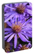 Michaelmas Daisy Portable Battery Charger