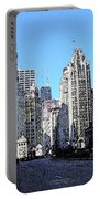 Michigan Ave Wide Portable Battery Charger