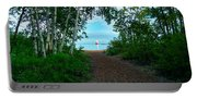 Michigan Breakwater Lighthouse Portable Battery Charger