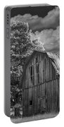 Michigan Old Wooden Barn Portable Battery Charger