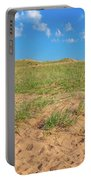 Michigan Sand Dune Landscape In Summer Portable Battery Charger