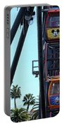 Mickey Donald Ferris Wheel California  Portable Battery Charger