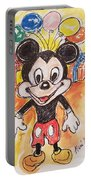 Mickey Mouse 90th Birthday Celebration Portable Battery Charger