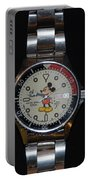 Mickey Mouse Watch Portable Battery Charger