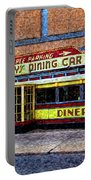 Mickey's Dining Car Portable Battery Charger