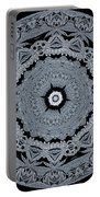 Mid Night Kaleidoscope Portable Battery Charger
