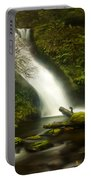 Middle Bridal Veil Falls Portable Battery Charger