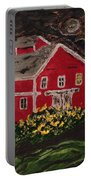 Midnight At Greenbank Farm Portable Battery Charger
