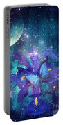 Midnight Butterfly Portable Battery Charger