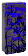 Midnight Lillies Portable Battery Charger