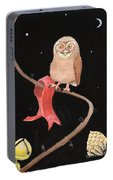 Midnight Owl Portable Battery Charger