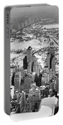 Midtown And Central Park View Portable Battery Charger