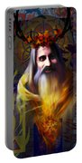 Midwinter Solstice Fire Lord Portable Battery Charger