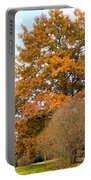 Mighty Oak In Autumn Portable Battery Charger
