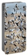 Migrating Snow Geese Portable Battery Charger