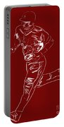 Mike Trout Home Run Trot Portable Battery Charger