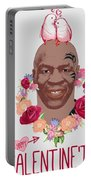 Mike Tyson Inspired Valentines Happy Valentine'th Day  Portable Battery Charger