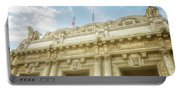 Milan Italy Train Station Facade Portable Battery Charger
