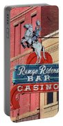 Miles City, Montana - Downtown Casino Portable Battery Charger