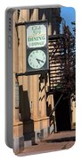 Miles City, Montana - Downtown Clock Portable Battery Charger