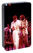 Miles Davis Image 10 And Bob Berg 1985 Your Under Arrest Tour Portable Battery Charger