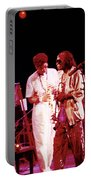 Miles Davis Image 10 And Bob Berg 1985 Your Under Arrest Tour Portable Battery Charger