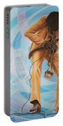 Miles Davis  In A Yellow Suit Portable Battery Charger