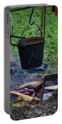 Military Revolutionary War Campfire Vertical Portable Battery Charger
