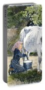 Milking, 19th Century Portable Battery Charger