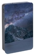 Milky Way On Italian Dolomites Portable Battery Charger