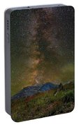Milky Way Over Mount St Helens Portable Battery Charger