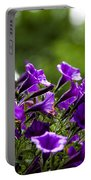 Mill Hill Inn Petunias Portable Battery Charger