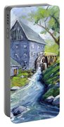 Mill Scene Portable Battery Charger