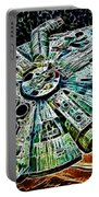 Millenium Falcon Portable Battery Charger by Paul Ward