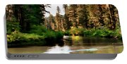 Millers Creek Painterly Portable Battery Charger