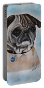 Millie The Pug 2016 Portable Battery Charger