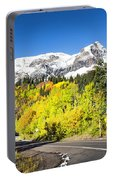 Million Dollar Highway Autumn Portable Battery Charger