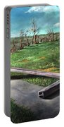 Millsfield Tennessee Steel Cross Portable Battery Charger