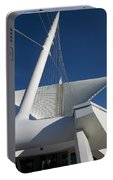 Milwaukee Art Museum Cropped Portable Battery Charger