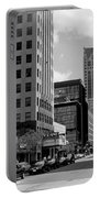 Milwaukee Street Scene B-w Portable Battery Charger