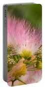 Mimosa Flower Portable Battery Charger