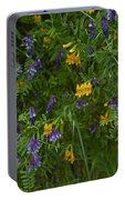 Mimulus And Vetch Portable Battery Charger