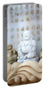 Minature Buddhas Portable Battery Charger