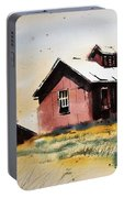 Mine Buildings Southern Cross Ghost Town Montana Portable Battery Charger