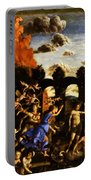 Minerva Chasing The Vices From The Garden Of Virtue 1502 Portable Battery Charger