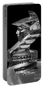 Minerva Hood Ornament Portable Battery Charger