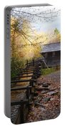 Mingus Mill Fall Color Great Smoky Mountains National Park Portable Battery Charger