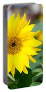Mini Sunflower And Bud Portable Battery Charger