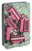 Miniature London Town Portable Battery Charger