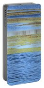 Brazos Bend Wetland Abstract Portable Battery Charger